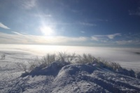 2010 Wasserkuppe Inversion Winter Wolken 003