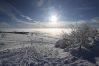 2010 Wasserkuppe Inversion Winter Wolken 007