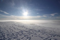 2010 Wasserkuppe Inversion Winter Wolken 008