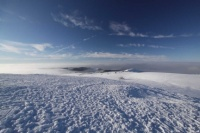 2010 Wasserkuppe Inversion Winter Wolken 009