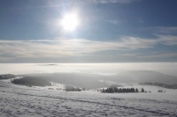 2010 Wasserkuppe Inversion Winter Wolken 015