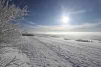 2010 Wasserkuppe Inversion Winter Wolken 016