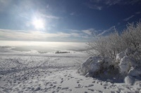 2010 Wasserkuppe Inversion Winter Wolken 018